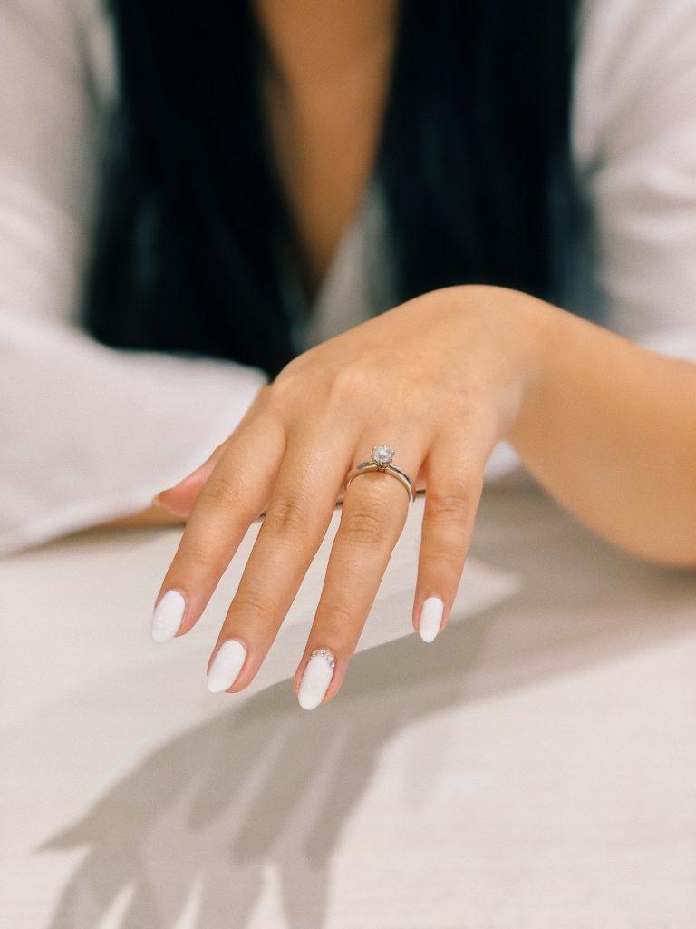 schoonheidsverzorging van de bruid